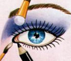 Occhi lontani dal naso